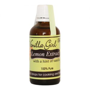 Lemon & Vanilla Extract 50ml